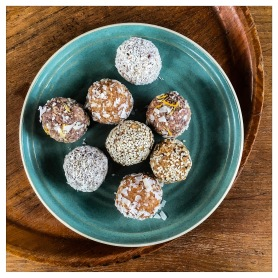 Vegan bliss balls