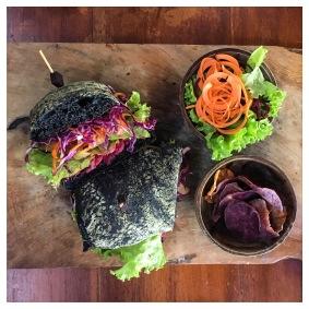 Charcoal sandwich